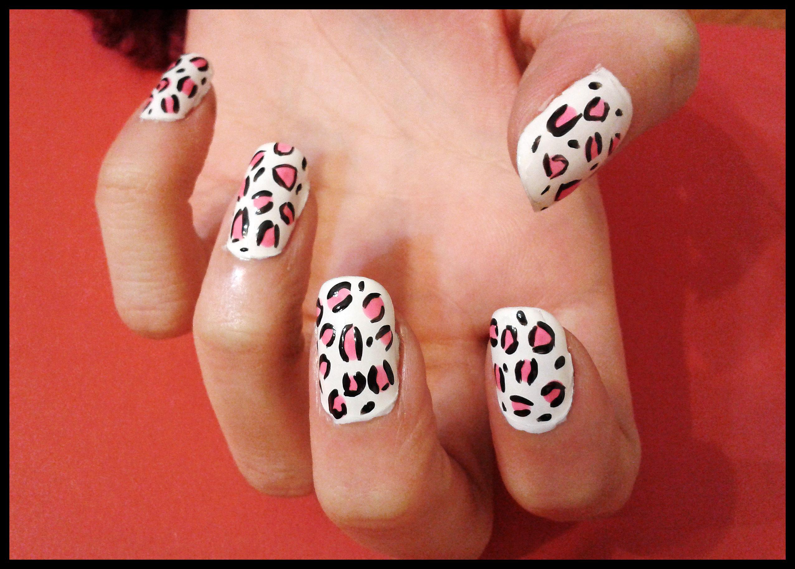 U as de leopardo paso a paso bekamakeup - Unas faciles paso a paso ...